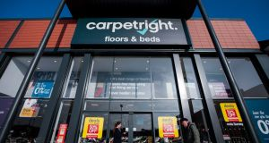 Carpetright is implementing a survival plan after negotiations with creditors in the past year. Photograph: Jason Alden/Bloomberg