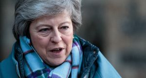 UK prime minister Theresa May. Tuesday's figures are likely to worry Bank of England officials ahead of their latest interest rate decision announcement