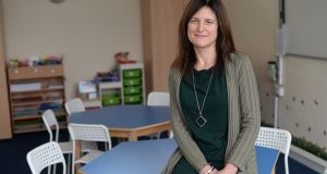 Barnardos chief executive Suzanne Connolly at the organisation's Finglas centre. Photograph: Dara Mac Dónaill
