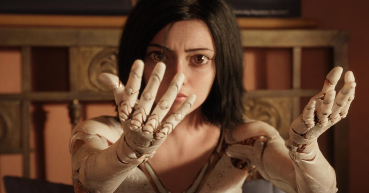 Alita: Rosa Salazar plays the title role in a motion-capture suit