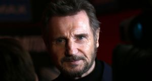 Actor Liam Neeson who has admitted that he harboured violent thoughts about killing a black person after someone close to him was raped. File photograph: Laura Hutton/PA Wire