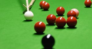 On the ball: the key to winning at snooker is not just by potting a single ball but thinking in advance about where the cue ball is going to end up after the pot