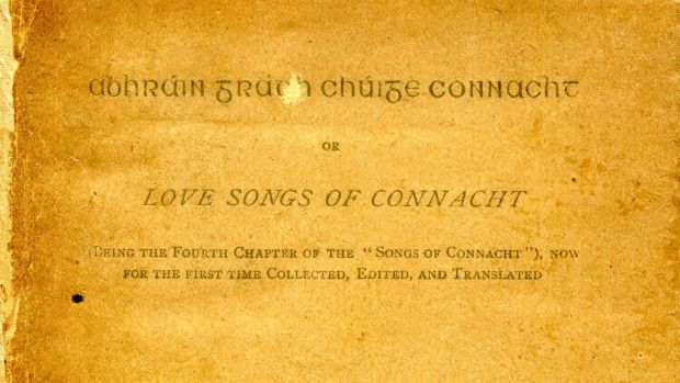 Love Songs of Connaught by Douglas Hyde given to Margaret Clarke and inscribed by Harry Clarke. De Burca Rare Books €675