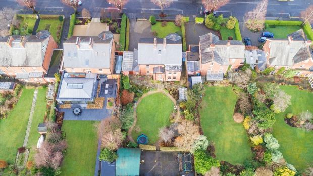 Northcote, 17 Temple Gardens, centre, and Kilfenora, 16 Temple Gardens pictured right