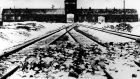 Auschwitz Concentration Camp in  Poland:  Stella Goldschlag aka 'Blonde Poison' prowled the streets of Berlin hunting down Jews for 300 reichmarks a head. Photograph: AP