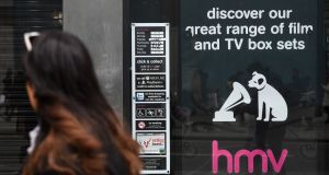 HMV's flagship store on Oxford Street in London, which is among those to have closed after the chain was bought by Putman. Photograph: Kirsty O'Connor/PA Wire