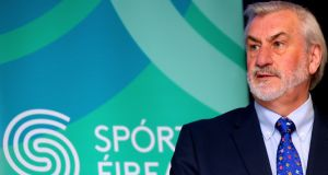 "Chairman of Sport Ireland, Kieran Mulvey: ""The increase in funding this year means that our funded bodies will be well equipped to deliver on their objectives as we look towards next year's Olympic and Paralympic Games and increasing participation in sport across the board."" Photograph: James Crombie/Inpho"