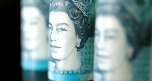 Sterling has won support in recent weeks from a belief that a no-deal Brexit will be avoided. Photograph: Reuters