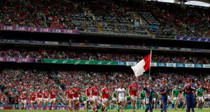 The GAA missed out on revenue from an All-Ireland semi-final replay between Cork and Limerick in 2018. Photograph: Tommy Dickson/Inpho