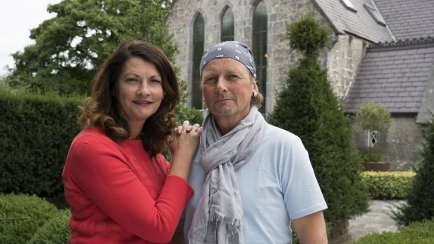 Kathleen and Des Kingston at their home, a converted church in Co Limerick.