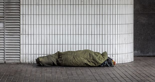 The number of those between 18 and 24 presenting as homeless has almost doubled since 2014.