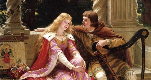 Irish romance: Tristan and Isolde in a 1902 painting by Edmund Leighton