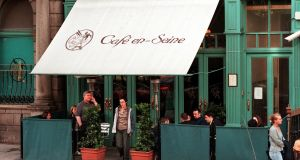 Café en Seine before its extensive renovation. Photograph: Cyril Byrne