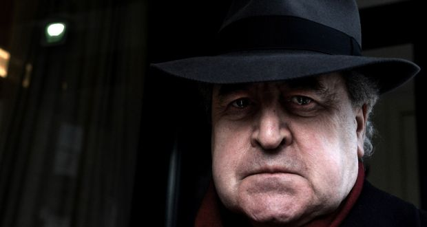 """I can't see what the fuss is about"": John Banville. Photograph: Cyril Byrne/The Irish Times"