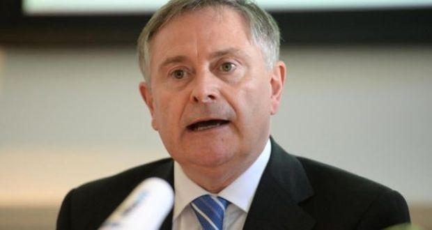 "Labour leader Brendan Howlin was accused of lecturing the Government on what to do while being a ""bloody hypocrite"" and a ""blackguard"". Photograph: Dara Mac Dónaill"