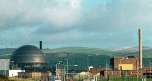 Nuclear waste is stored at about 30 sites across Britain, but predominantly at ground level at the Sellafield reprocessing plant in Cumbria. Photograph: PA
