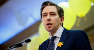 Minister for Health Simon Harris: said he was 'not in the business of having bets on the floor of the Dáil'.
