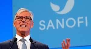 Sanofi's chief executive  Olivier Brandicourt attends the company's shareholders meeting in Paris, France. Photograph: Charles Platiau/File Photo/Reuters
