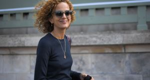 Leïla Slimani: her first novel Lullaby was an international bestseller.  Photograph: Loic Vanance/AFP/Getty Images