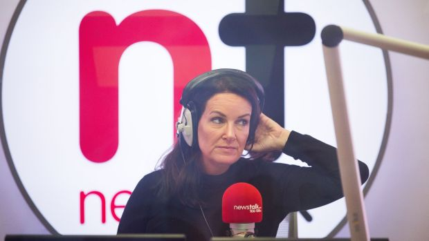 Lunchtime Live, presented by Ciara Kelly on Newstalk, now has 105,000 listeners, up 4,000 since the last survey
