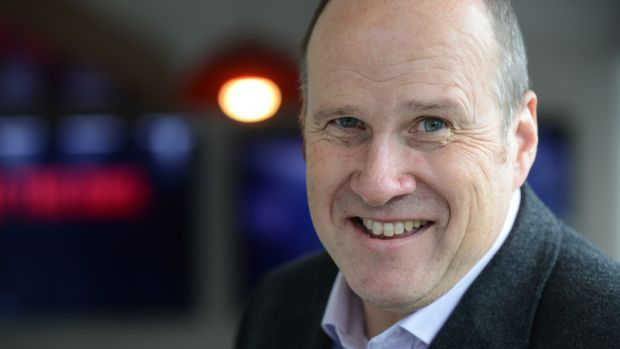 Newstalk's 'Hard Shoulder' presenter Ivan Yates has made gains at drivetime. Photograph: Cyril Byrne / The Irish Times