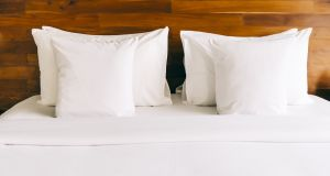 Sweet dreams are made of this: a clean uncluttered environment can help you get a good night's sleep. Photograph: Getty