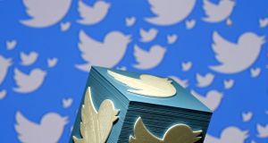 Social media gorup Twitter beat Wall Street's expectations to report a jump in revenues. Photograph: Dado Ruvic/Reuters