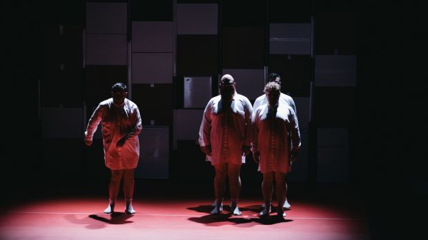 Fat Blokes, at the Project Arts Centre, creates a camaraderie between the performers that is shared with the audience.