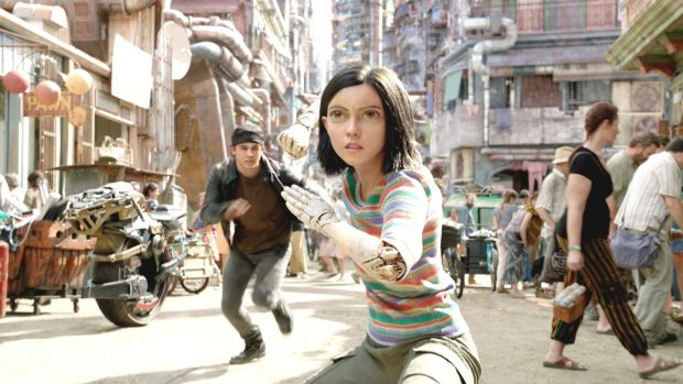 New this week: Keean Johnson and Rosa Salazar in Alita: Battle Angel