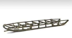 The Ernest Shackleton sledge, lot 195, from his Nimrod expedition, €163,718 (€67,000-€110,000)