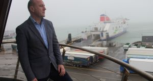 Glenn Carr, general manager of the Rosslare Europort