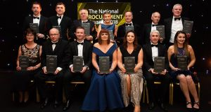 Joy for those honoured at the National Procurement Awards 2018