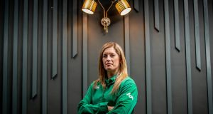 Ireland's Alison Miller: she is playing in her  10th Six Nations. Photograph: Morgan Treacy/Inpho