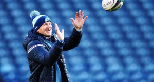 Scotland  coach Gregor Townsend: he  is receptive to ideas from his coaching team, and will always test his own theories on the game in a practical way.  Photograph:  Ian MacNicol/Getty Images