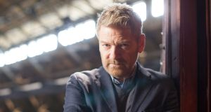 "Kenneth Branagh:  ""I couldn't get arrested,"" he says of his early acting career. Photograph: Gregg Delman/The New York Times"