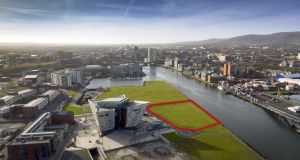 Plater's Yard:  1.77-acre waterfront site for sale through CBRE