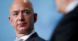 Amazon CEO Jeff Bezos: 'Of course I don't want personal photos published, but I also won't participate in their well-known practice of blackmail'. Photograph: Joshua Roberts/Reuters