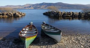 Lough Currane in Waterville, Co Kerry,  scene of the first official wild Atlantic salmon of the year. Photograph: istock