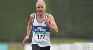 Joe Gough has been named World Masters athlete of the year.