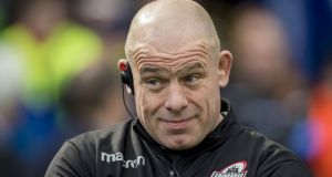 Edinburgh coach Richard Cockerill has overseen a revival at the club, leading them into the Champions Cup quarter-finals. Photograph: Craig Watson/Inpho