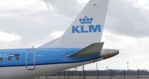 Air France and KLM merged in 2004, and have operated semi-independently since then, with the French government owning a 14 per cent stake.  Photograph: Michaela Handrek-Rehle/Bloomberg