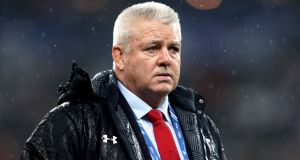 Wales  coach Warren Gatland. Success on tour in Argentina last summer has increased his   options and put pressure on established players who dare not trade on reputation.  Photograph: David Davies/PA Wire