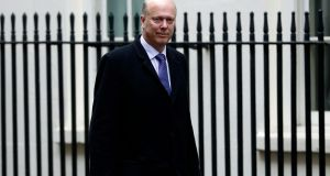 Britain's transport secretary, Chris Grayling, is facing calls for his resignation. Photograph: ADRIAN DENNIS/AFP/Getty Images