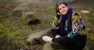 Alexandra Soares: 'I am very privileged because I was already fluent in English when I arrived.' Photograph: Dara Mac Dónaill