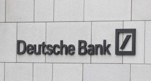 Deutsche's shares have fallen 45 per cent in the past year amid worries about drops in revenues. Photograph: Tom Honan.