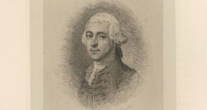 Pierce Butler was born in Ballintemple House in Co Carlow in July 1744.