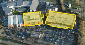 The properties are at the corner of the Greencastle and Malahide Road junction about 7km from the city centre