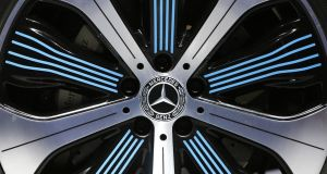 The decline in Mercedes' sales was led by Europe, where deliveries fell by 11.2 per cent to 57,963 vehicles.