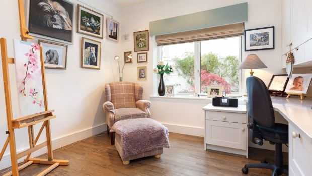 Studio/bedroom at 25 Mather Road South, Mount Merrion, Co Dublin