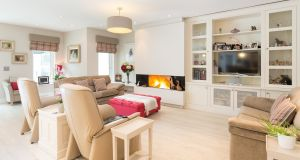 Livingroom at 25 Mather Road South, Mount Merrion, Co Dublin